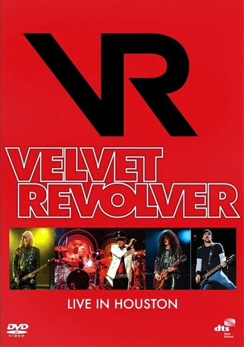 VELVET REVOLVER LIVE IN HOUSTON DVD
