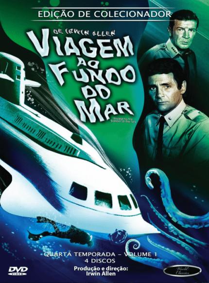 VIAGEM AO FUNDO DO MAR QUARTA TEMPORADA VOL 1 DVD