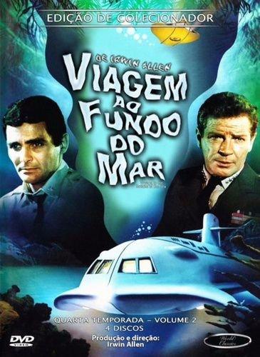 VIAGEM AO FUNDO DO MAR QUARTA TEMPORADA VOL 2 DVD