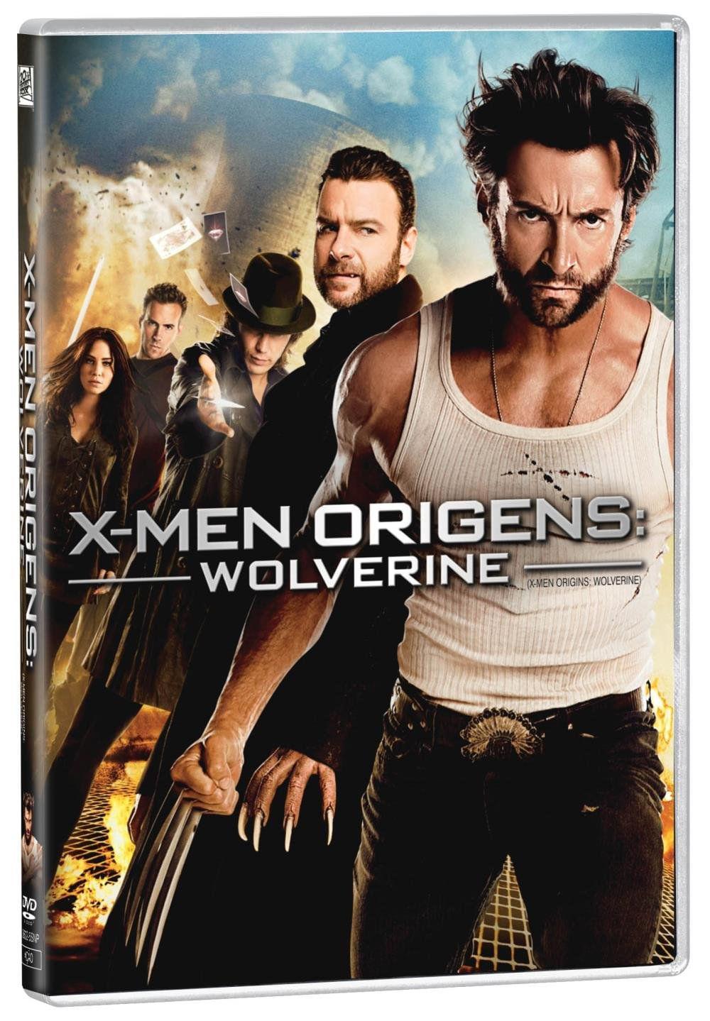 X MEN ORIGENS WOLVERINE DVD