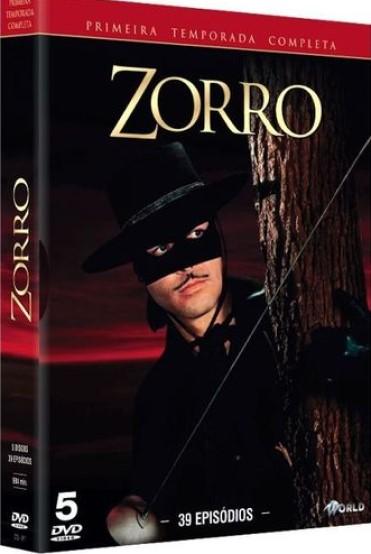 ZORRO PRIMEIRA TEMPORADA COMPLETA BOX DVD