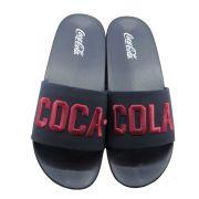 Chinelo Masculino Slide Coca-Cola Stadium CC2704 - Marinho
