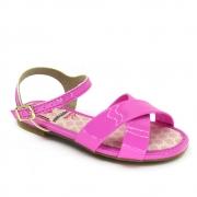 Sandália Infantil Feminina Rasteira Molekinha 2157750 Pink