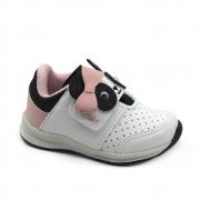 Tênis Infantil Jogging Feminino Camin 1114 Branco