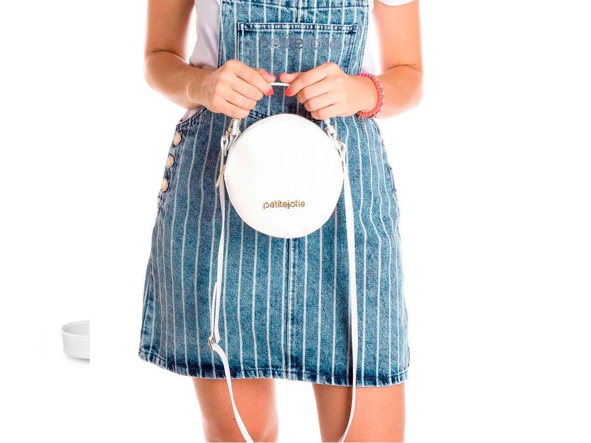 Bolsa Feminina Petite Jolie Round PJ4871 Transversal