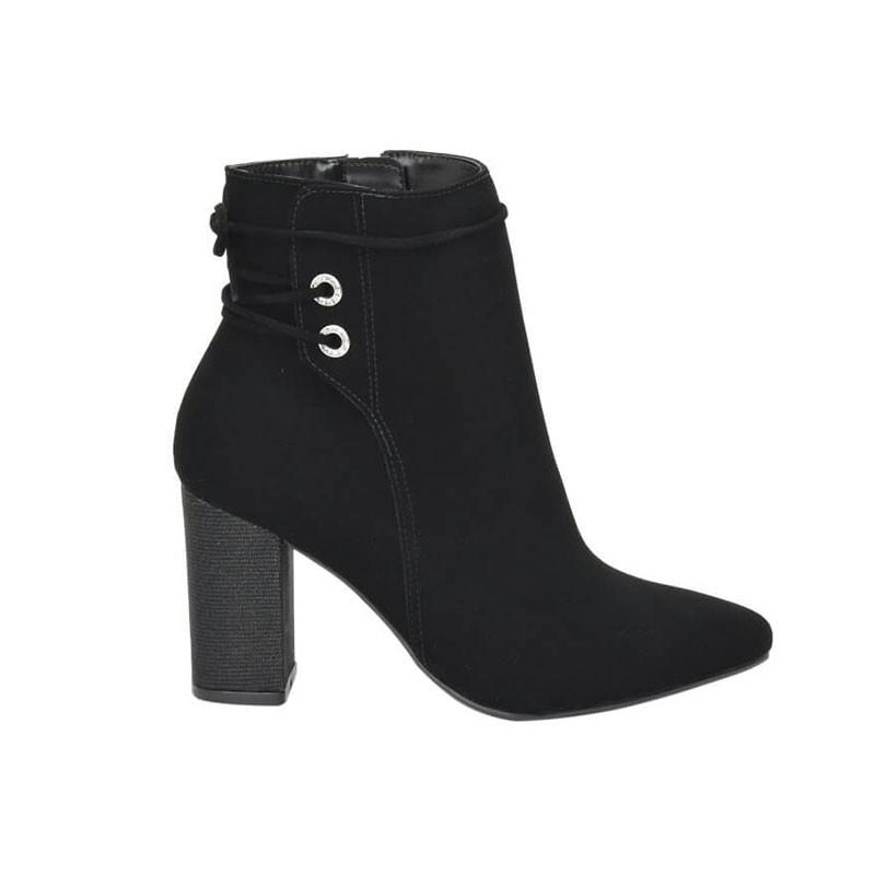 Bota Feminino Cano Curto Via Marte 204905 Ankle Boot