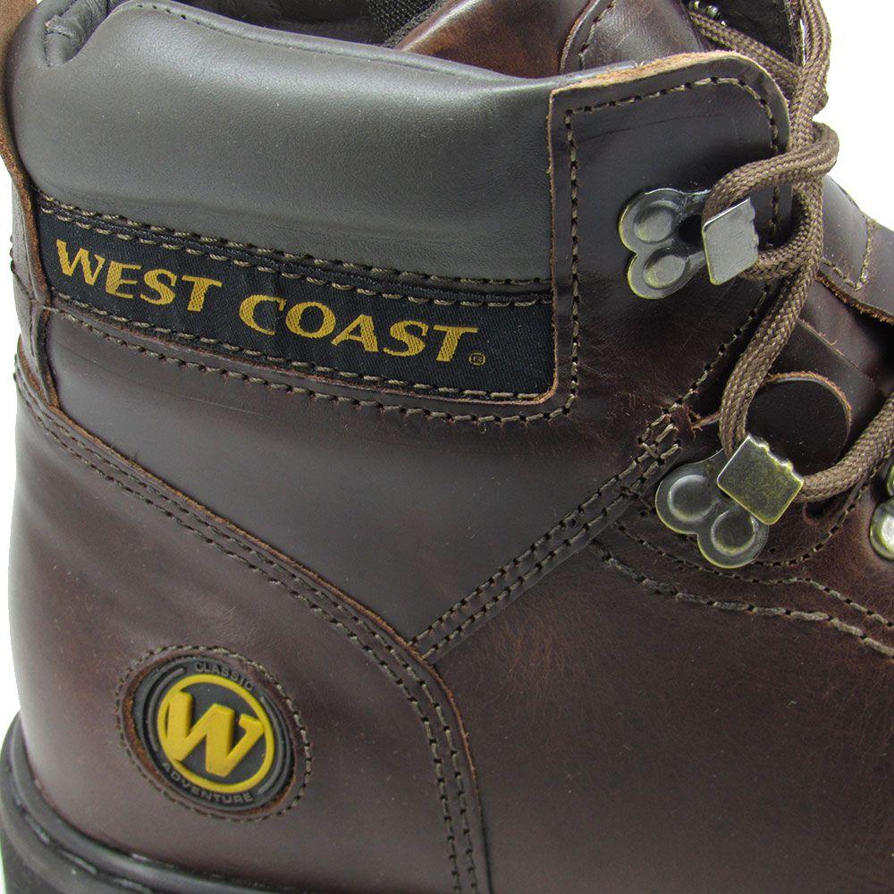 Coturno Masculino West Coast Worker 5790 Anilina