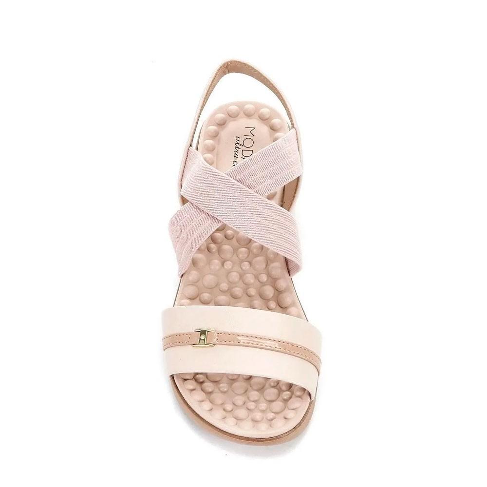 Sandália Feminina Flat Modare 7142102 Moda Conforto