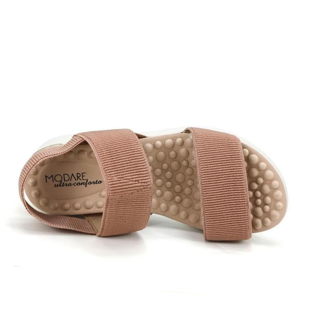 Sandália Feminina Flat Modare 7151102 Ultra Conforto