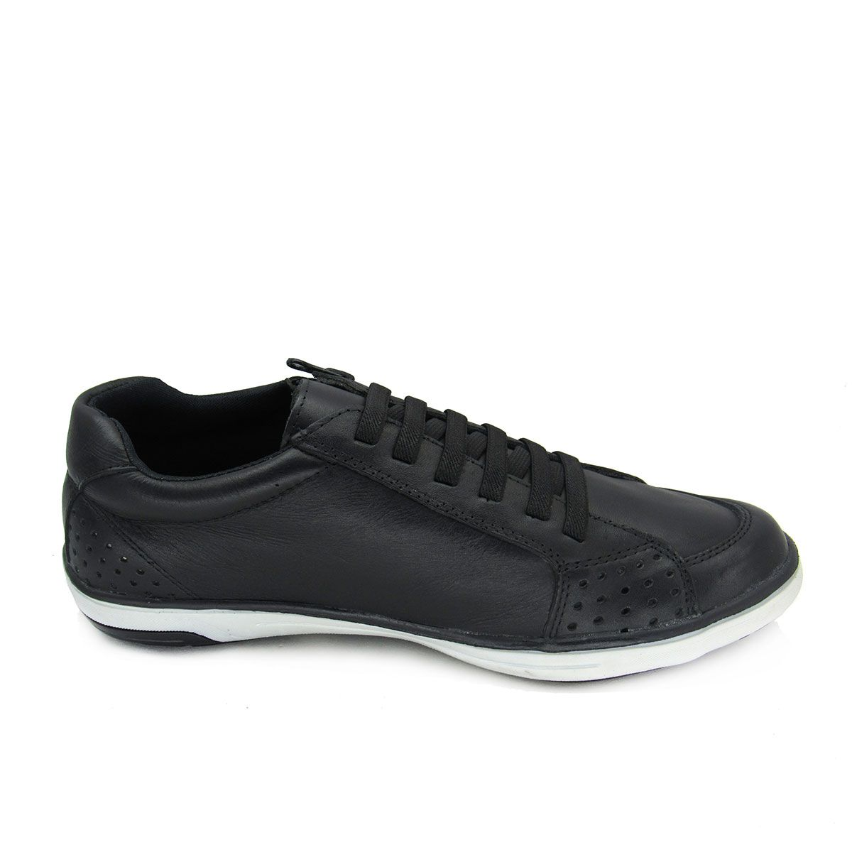 Sapatênis Masculino Couro Spell Shoes 321B Calce Fácil