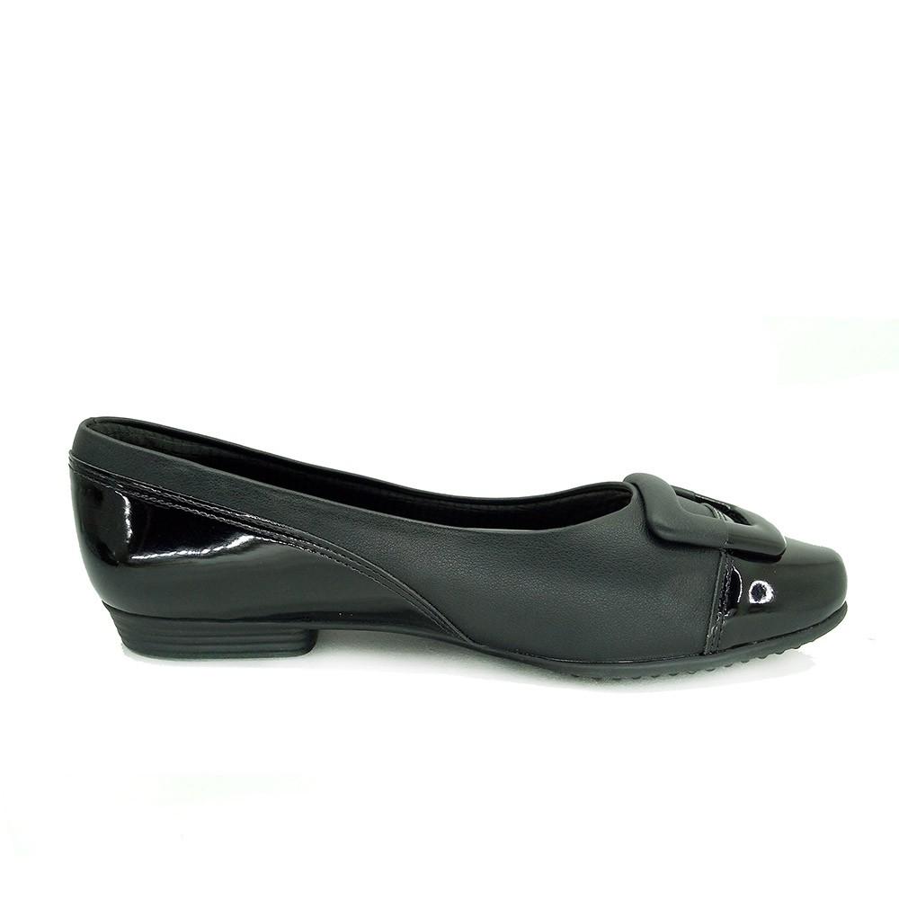 Sapato Feminino Salto Baixo Piccadilly 251073 Conforto