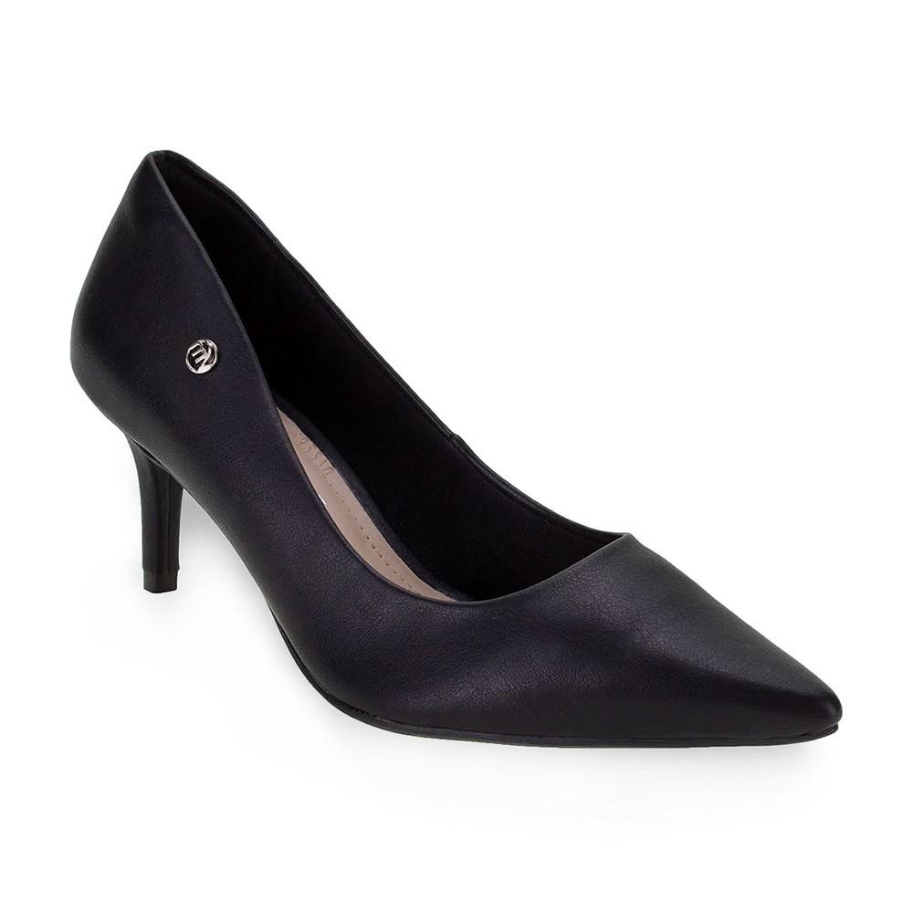 Sapato Feminino Scarpin Via Marte 199108 Salto Médio