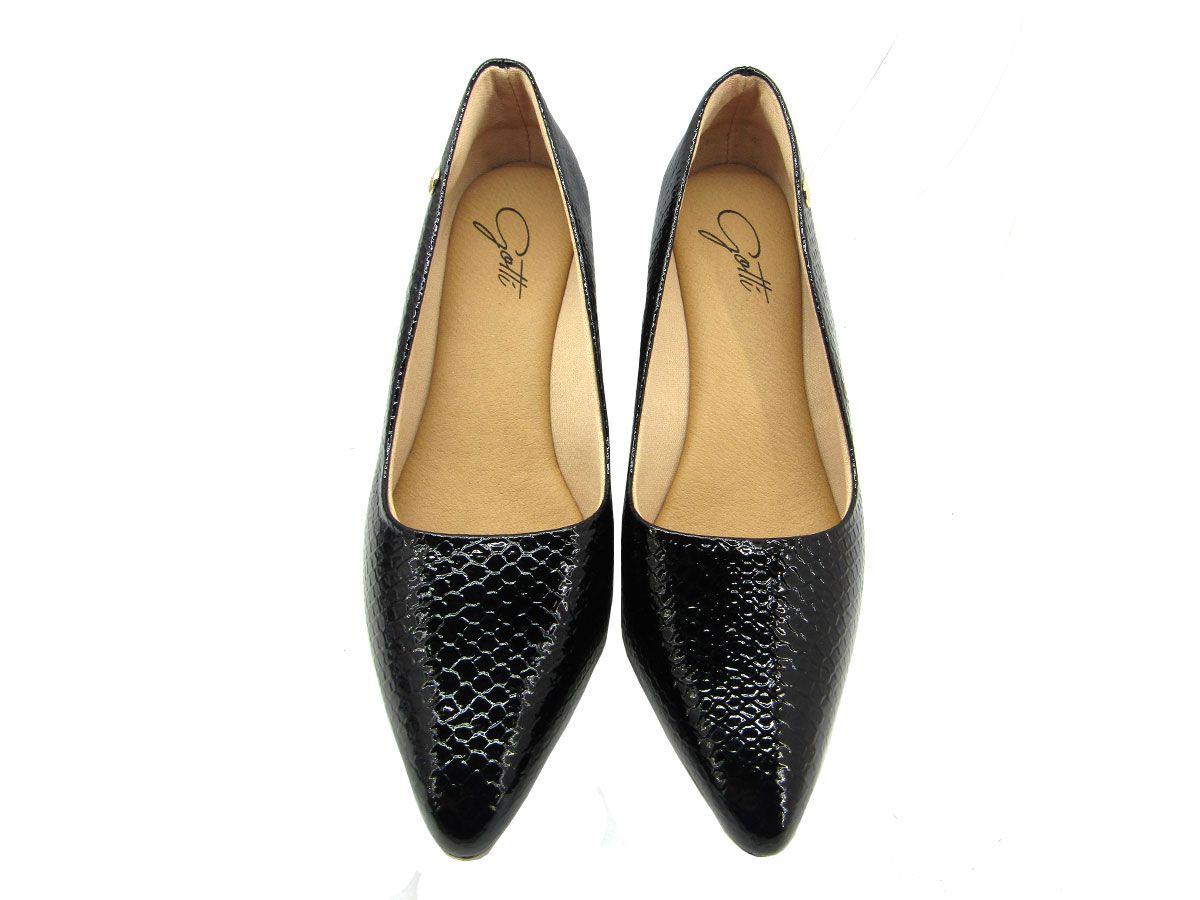 Sapato Scarpin Feminino Gottí 8212 Pitton