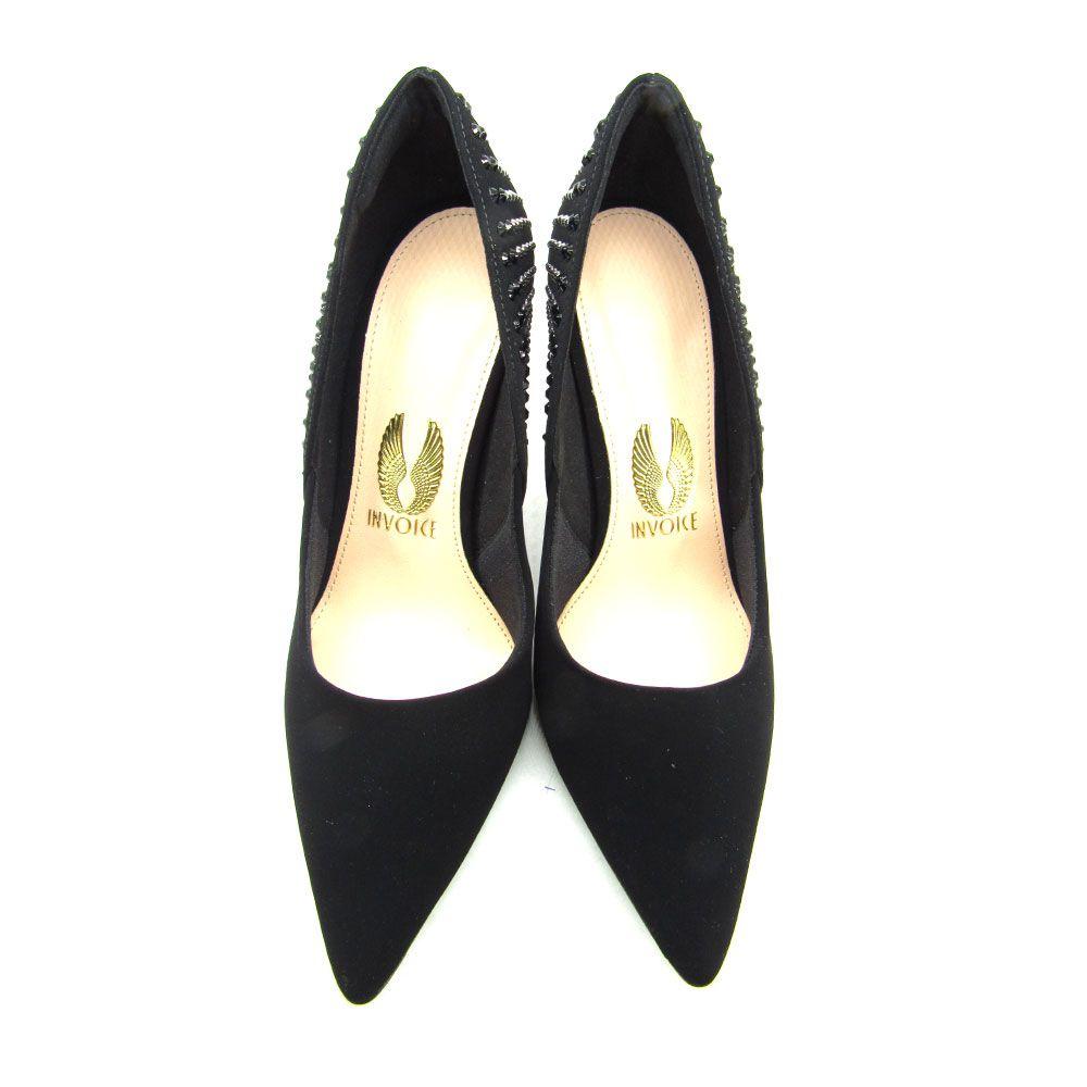 Sapato Scarpin Feminino Invoice 213020  Salto Alto