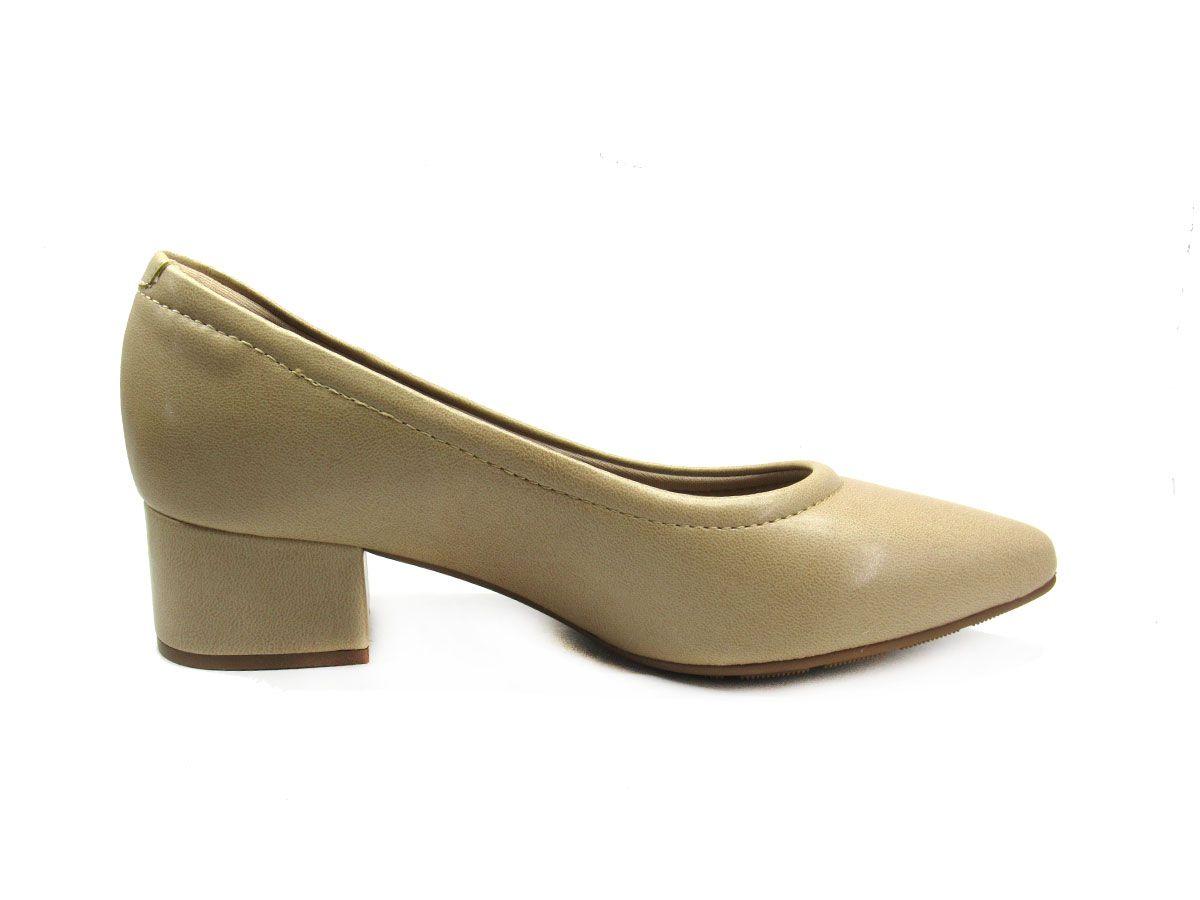 Sapato Scarpin Feminino Modare 7340100 Bege