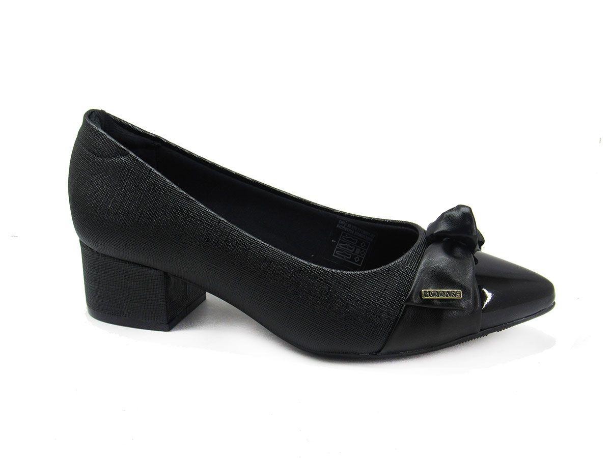 Sapato Scarpin Feminino Modare 7340102 Preto