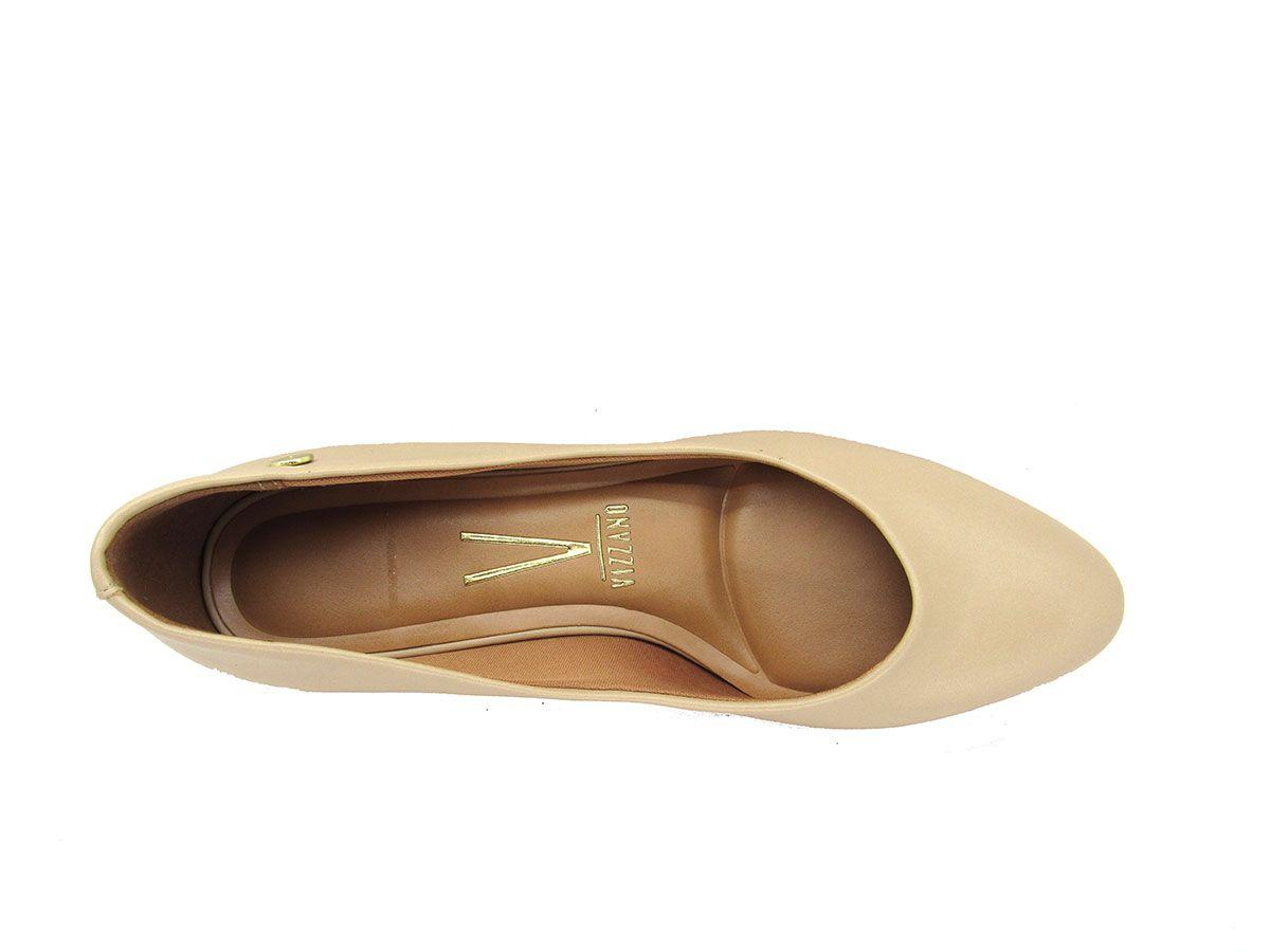 Sapato Scarpin Feminino Vizzano 1346100 Salto Grosso