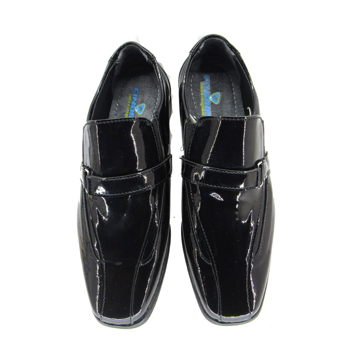 Sapato Social Infantil Masculino Finobel SC57 Preto
