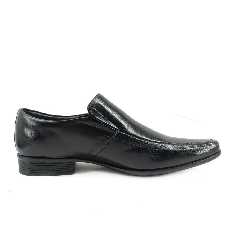 Sapato Social Masculino Jota Pe Air King 45007G Preto Tamanho Especial