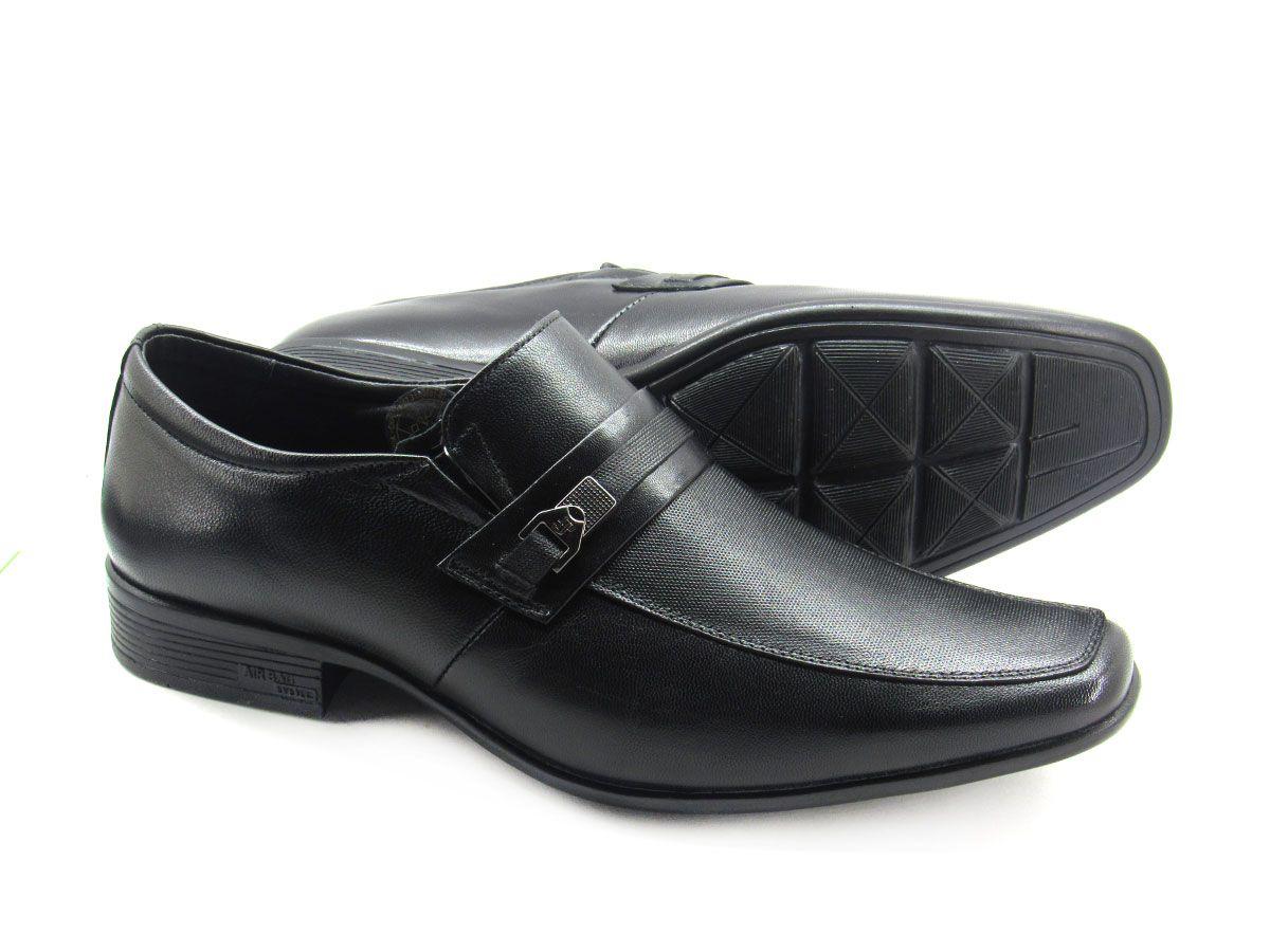 Sapato Social Masculino Jota Pe AIr Magic 77519G Tamanho Especial