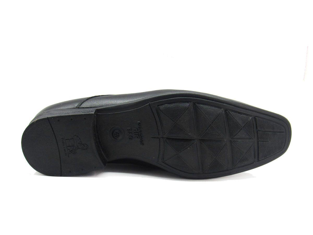 Sapato Social Masculino Jota Pe AIr Magic 77520 Couro Pelica