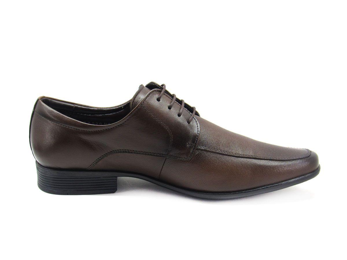 Sapato Social Masculino Jota Pe AIr Magic 77520G Tamanho Especial