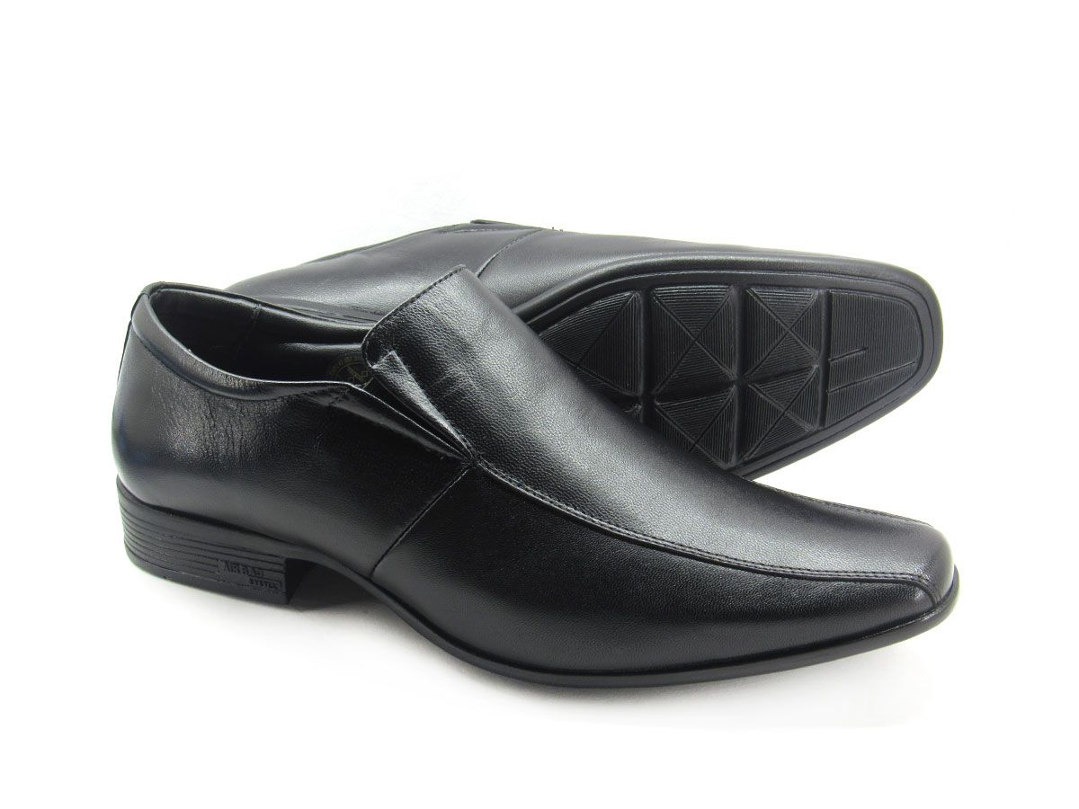 Sapato Social Masculino Jota Pe AIr Magic 77523 Couro Pelica