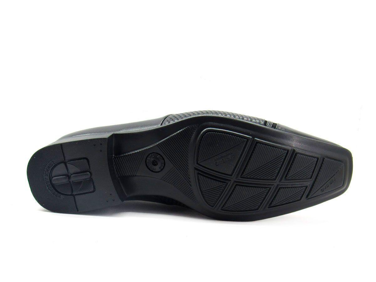 Sapato Social Masculino Jota Pe Air Phoenix 72384 - Preto