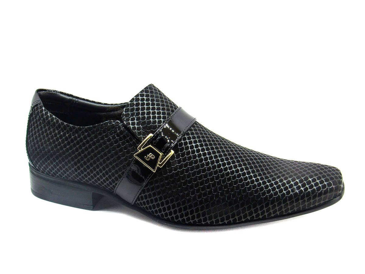Sapato Social Masculino Jota Pe Air Phoenix 72354 - Preto