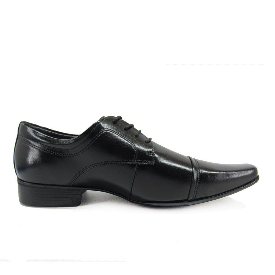 Sapato Social Masculino Jota Pe Air Vinitti 77600 Pelica Preto