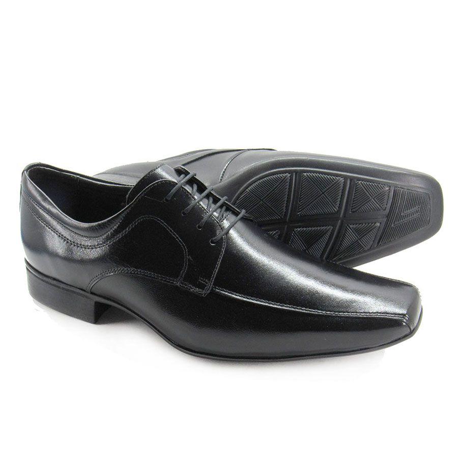 Sapato Social Masculino Jota Pe Air Vinitti 77602 Pelica Preto