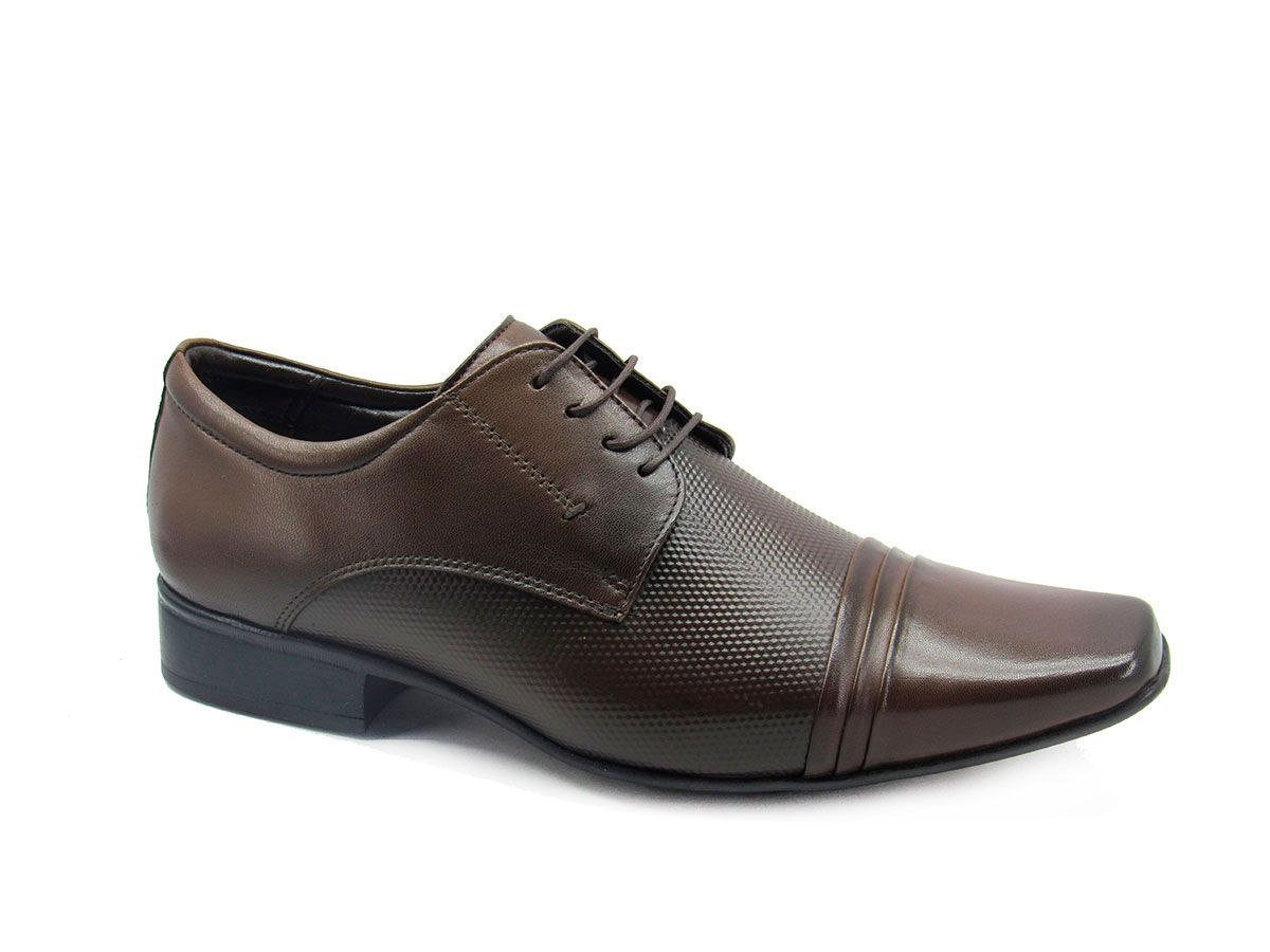 Sapato Social Masculino Jota Pe Air Price 40638 - Brown