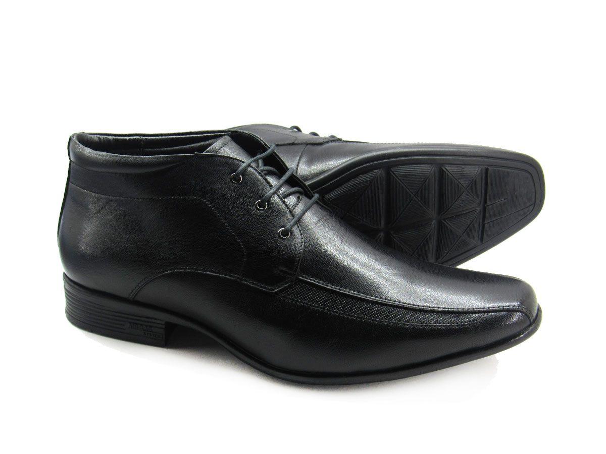 Sapato Social Masculino Jota Pe Magic Boot 77551 Couro Pelica