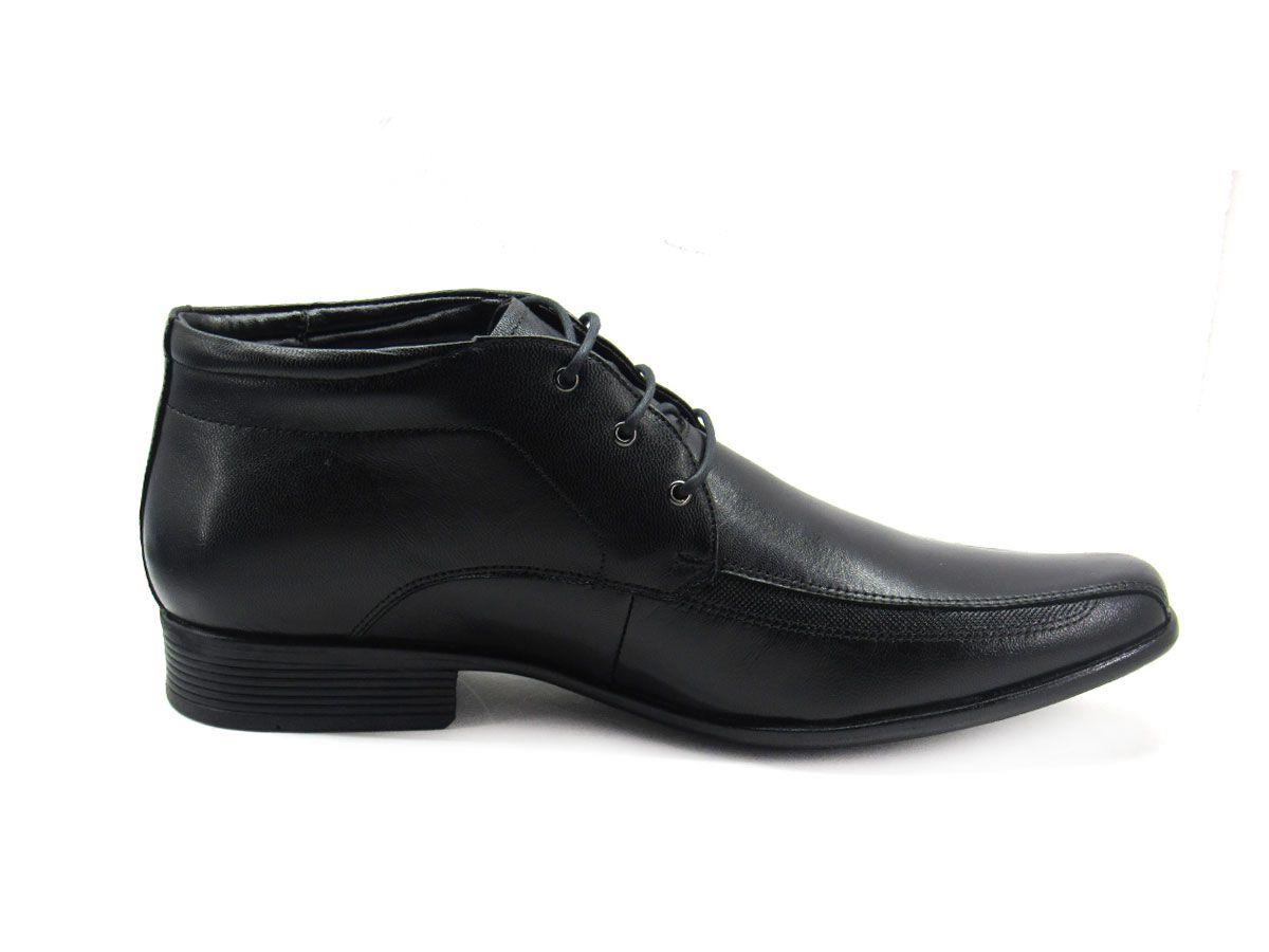 Sapato Social Masculino Jota Pe Magic Boot 77551G Tamanho Especial