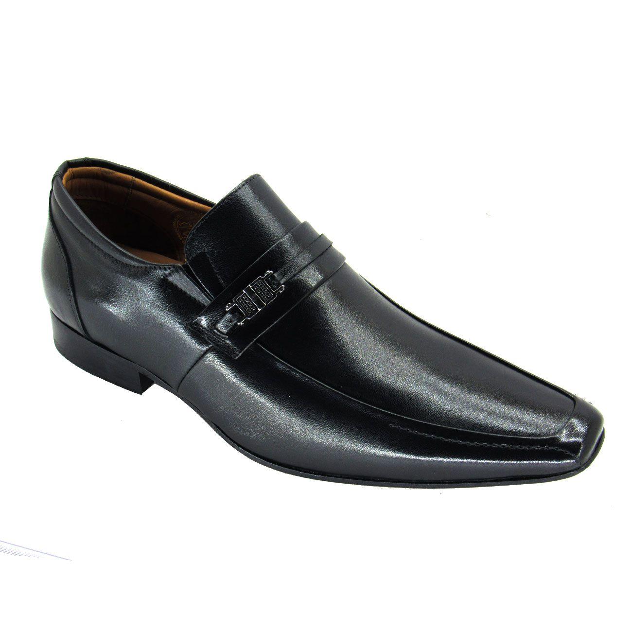 Sapato Social Masculino Sola de Couro Berlin Jota Pe 72811 Pelica