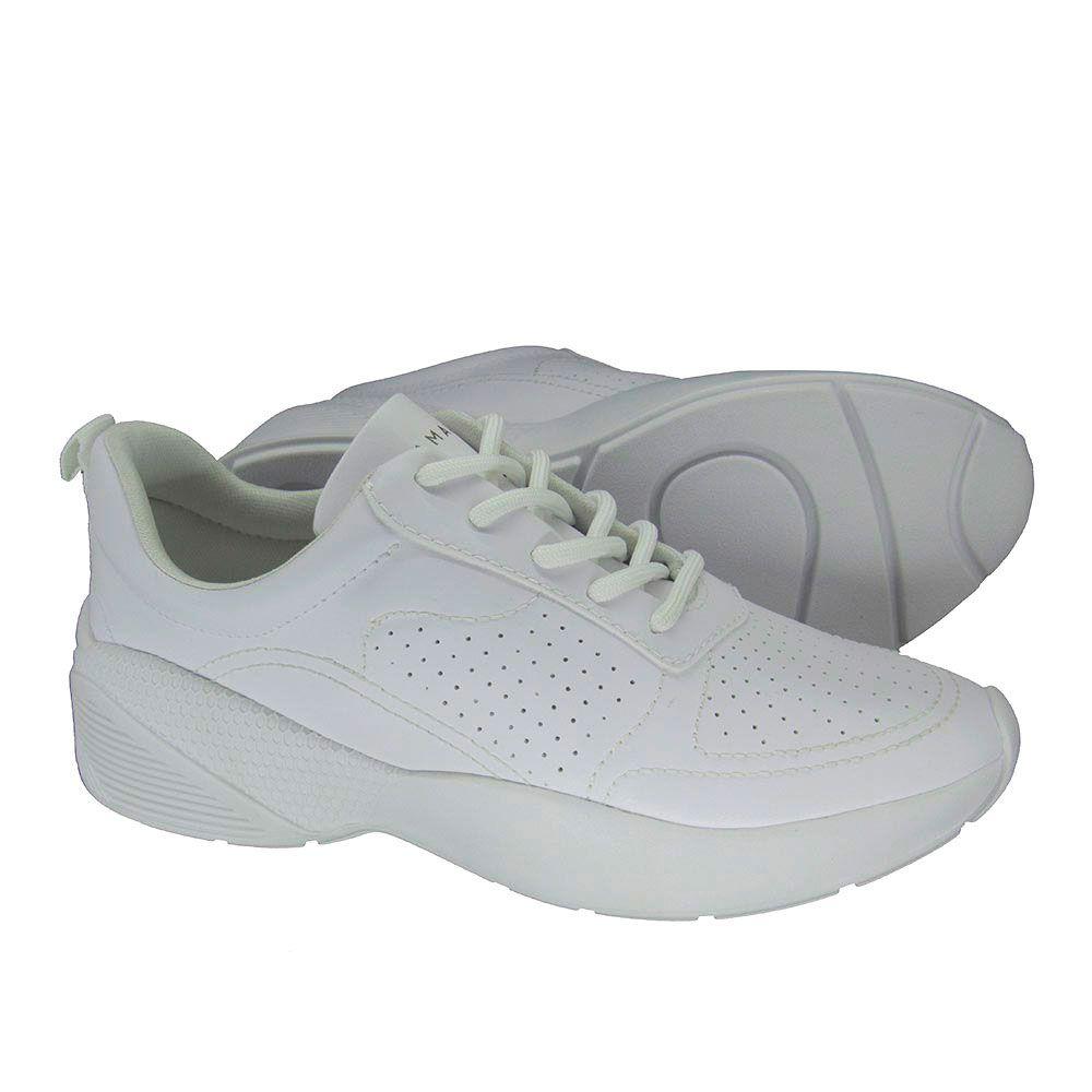 Tênis Feminino Chunky Sneaker Ramarim 1976701 Branco