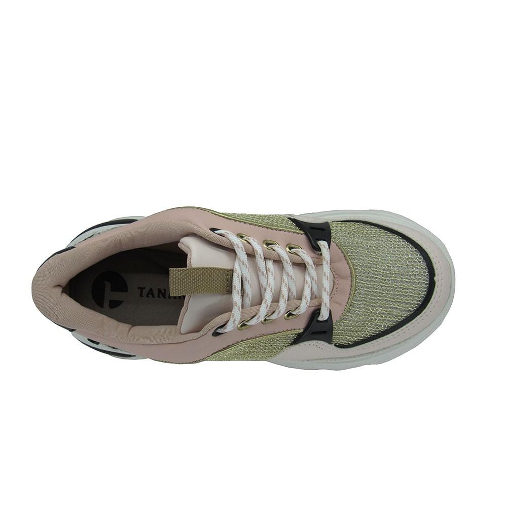 Tênis Feminino Dad Sneaker Tanara T4181 Flatform