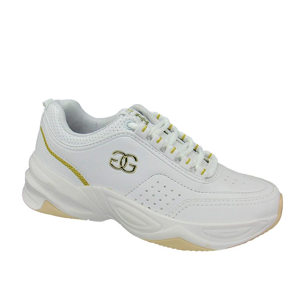 Tênis Feminino Kicks Logus 20730P Estilo Conforto