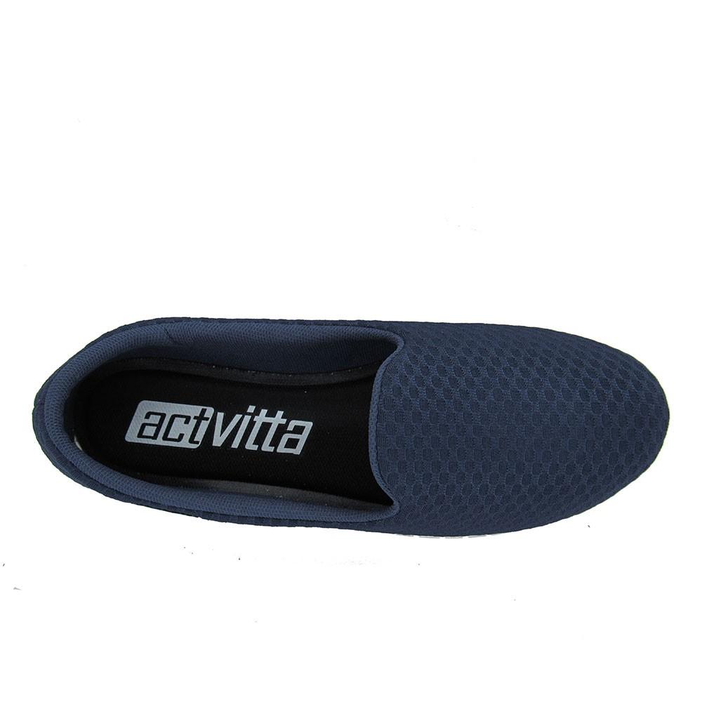 Tênis Feminino Slip On Actvitta 4202200 Macio Conforto