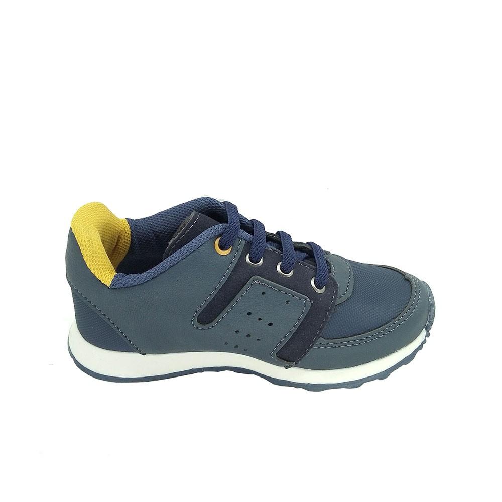 Tênis Infantil Masculino Jogging Camin 2759 Estilo Conforto
