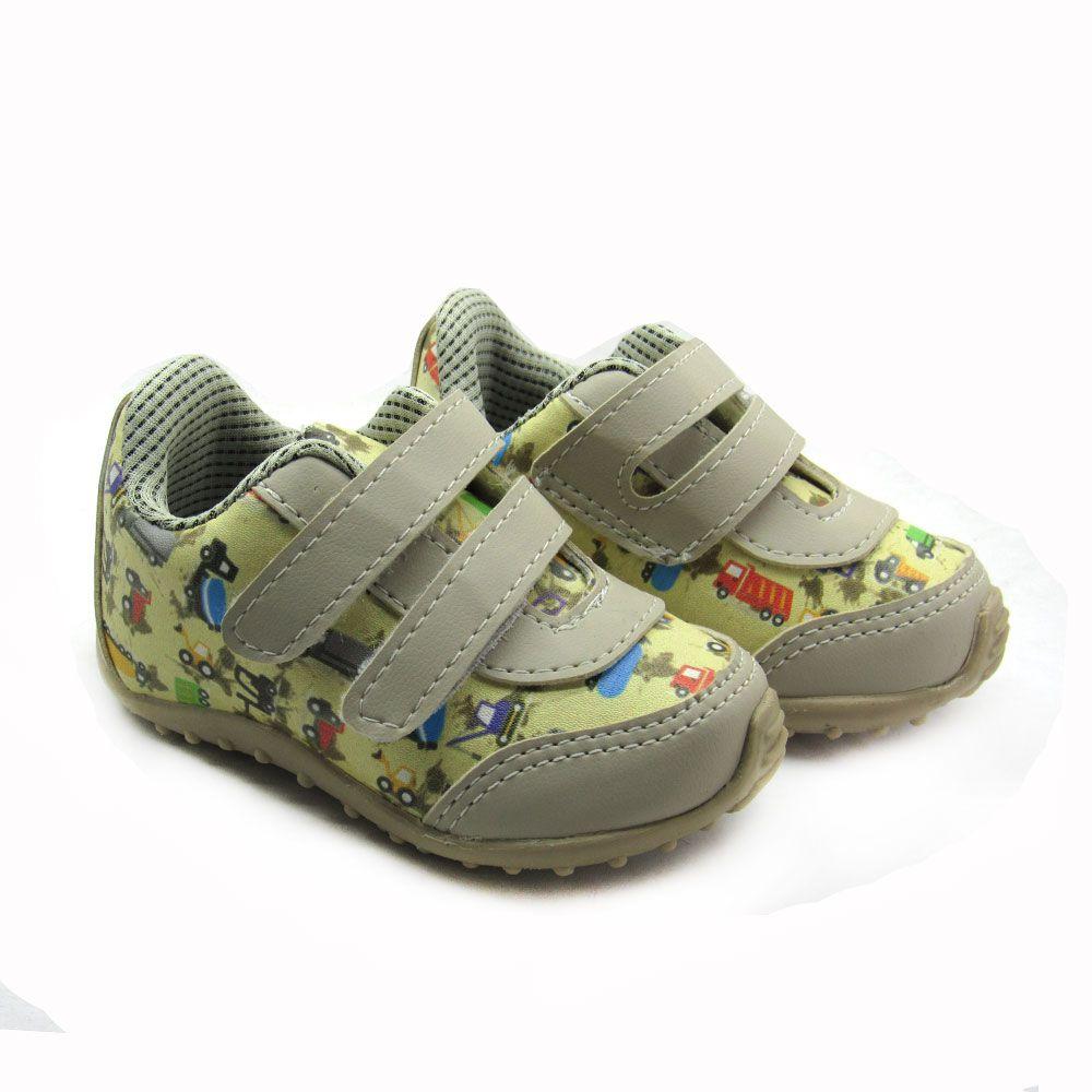 Tênis Jogging Infantil Meninos Blim Blim 215 Velcro