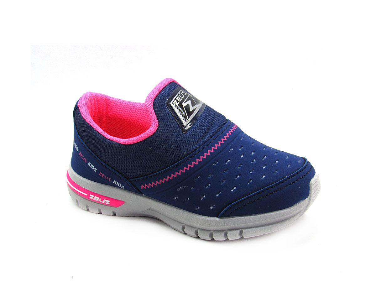 Tênis Jogging Infantil Zeus 4X  Esportivo Conforto