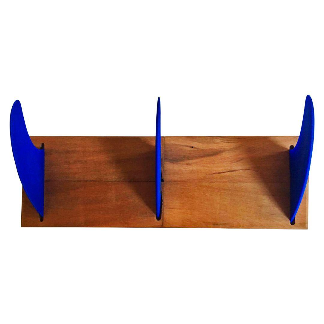 Cabideiro Quilha Triplo Azul