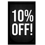 10%OFF!!