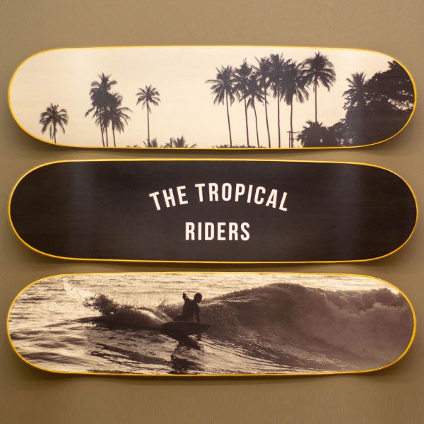 Quadro Birden Tropical Riders