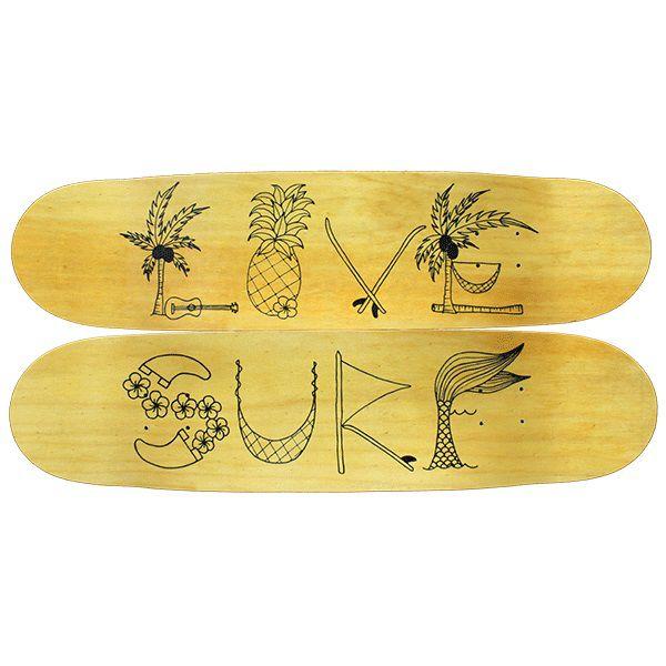 Quadro Love Surf