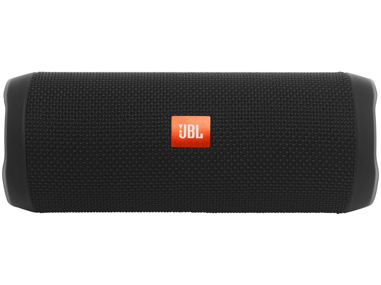 Caixa de som speaker jbl flip 4 preto
