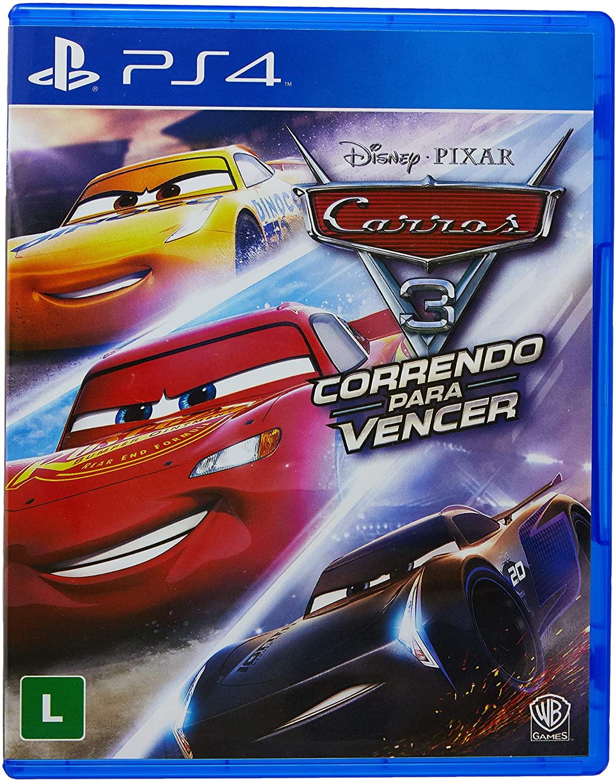 CARROS 3 CORRENDO PARA VENCER PS4