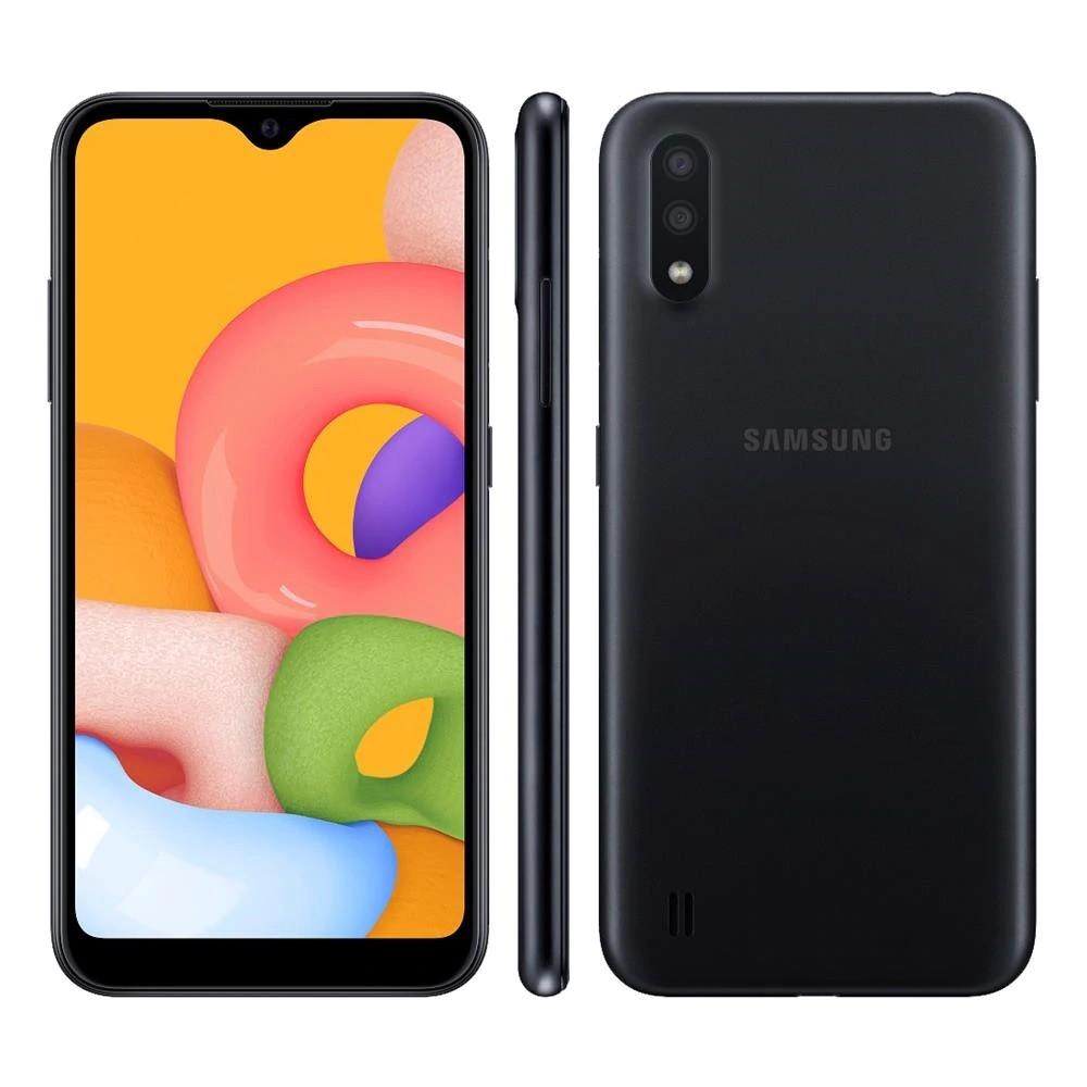 Celular Samsung A01 32GB Preto