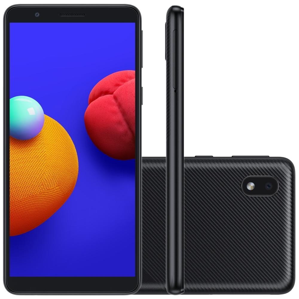 Celular Samsung A01 core 32GB Preto